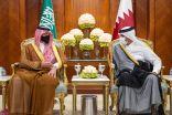 سمو الأمير عبدالعزيز بن سعود يصل إلى قطر في زيارة رسمية