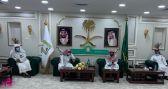 مدير الشؤون الإسلامية بالحدود الشمالية يجتمع بالمراقبين