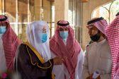 وزير الشؤون الإسلامية يتفقد فرع الوزارة بمنطقة الرياض