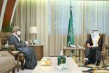 أمير الشرقية يستقبل سمو سفير سلطنة عُمان لدى المملكة