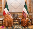 أمير دولة الكويت ورئيس مجلس الوزراء يستقبلان الأمير تركي بن محمد بن فهد
