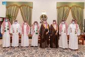 سمو أمير الجوف يستقبل مدير التعليم وعدداً من الطلاب .. و يستعرض مؤشرات زيادة نسب التوطين بالمنطقة