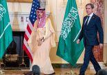سمو وزير الخارجية يلتقي وزير الخارجية الأمريكي