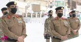 مدير الأمن العام يتفقد الجهات الأمنية المشاركة في تطبيق الخطط الأمنية في حج هذا العام